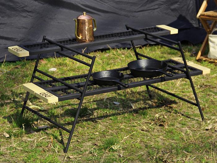 焚き火スタンドとして使うテキーラシリーズ