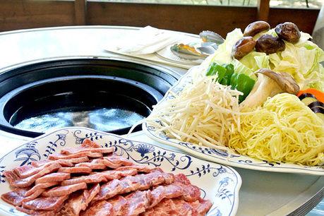 軽井沢タリアセンのバーベキューで使う食材