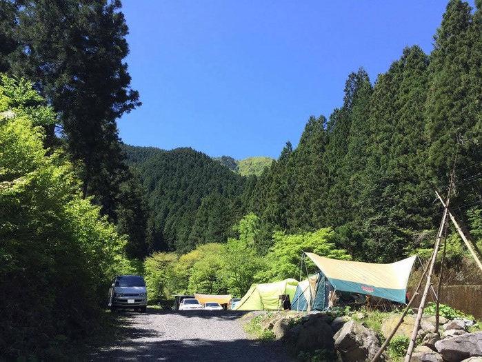 大岳キャンプ場の外観