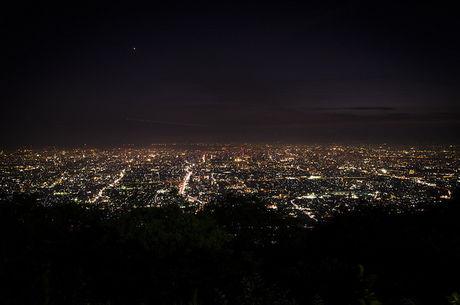 生駒山から見える夜景