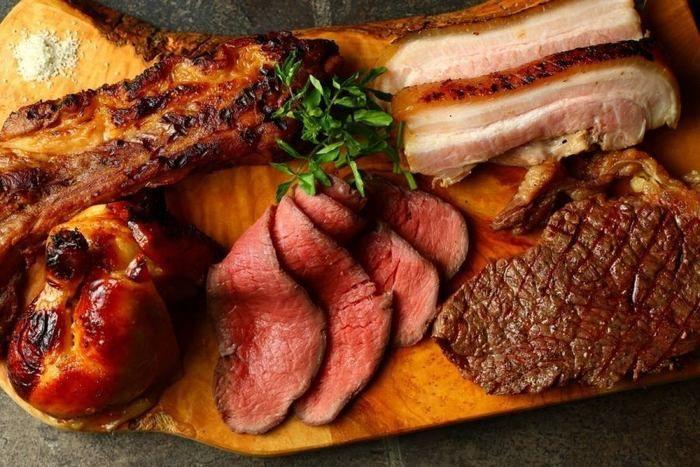 スクエア ラボの美味しそうな肉