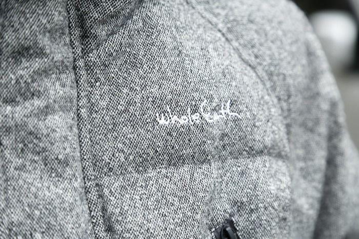 ダウンジャケットのキルティング素材