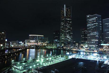 横浜の美しい夜景