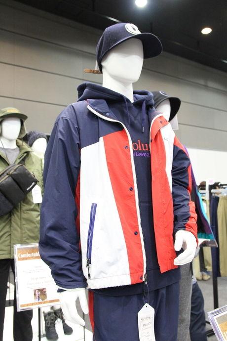 コロンビアのダブルブルックジャケット