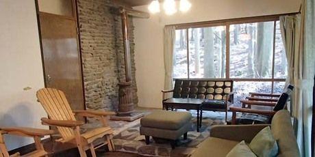 ボスコオートキャンプベースの山荘の室内