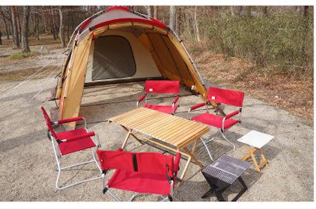 キャンプラビットのレンタルキャンプ用品