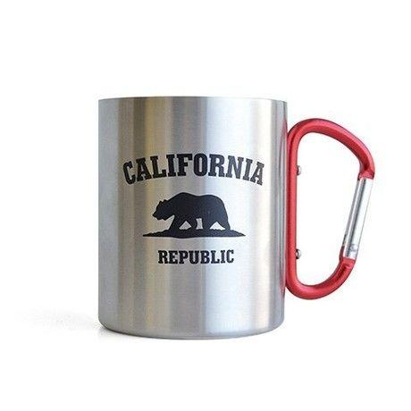 とってがカラビナのマグカップ