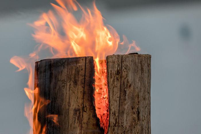北欧生まれの焚き火