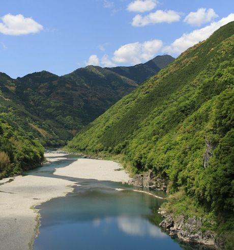 仁淀川の風景