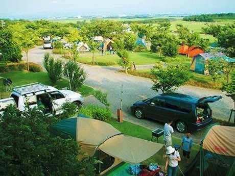 庄内夕日の丘オートキャンプ場の外観