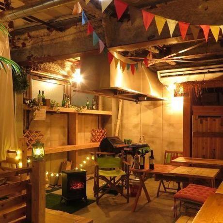 cafe de フウカ 3BANCHOBARの内装