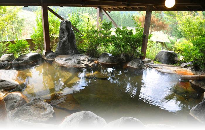 蔵迫温泉さくらの露天風呂