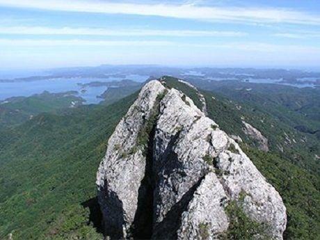 白嶽からの風景