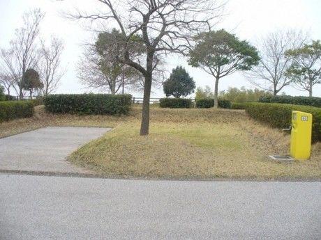 竜王山公園オートキャンプ場の個別サイト