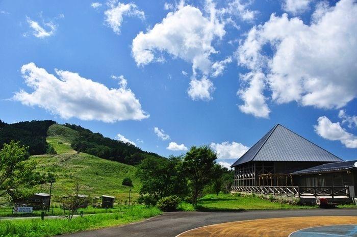 らかん高原オートキャンプ場の風景