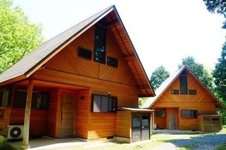 秋吉台家族旅行村のログハウス