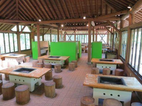 秋吉台家族旅行村のバーベキューハウス
