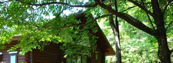 美里町ガーデンプレイス家族村のコテージ