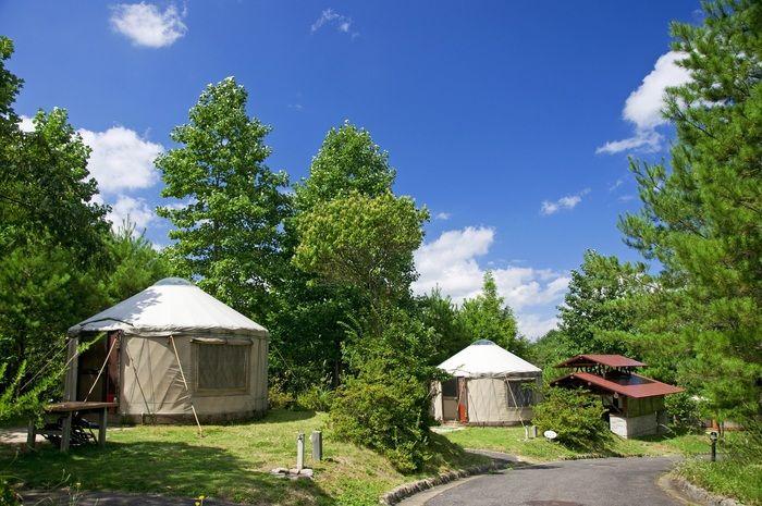 十種ヶ峰ウッドパークオートキャンプ場のコテージ