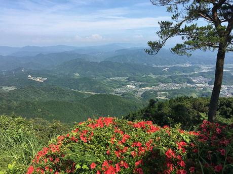 赤松ヶ平展望台からの景色