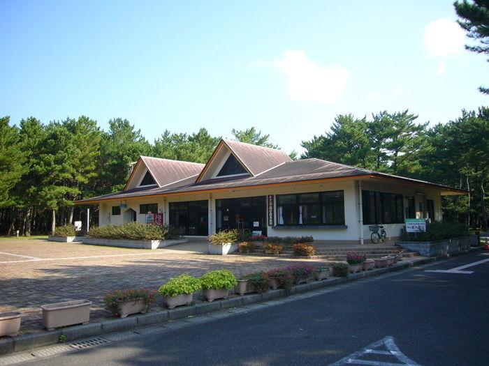 県立吹上浜海浜公園キャンプ場の建物