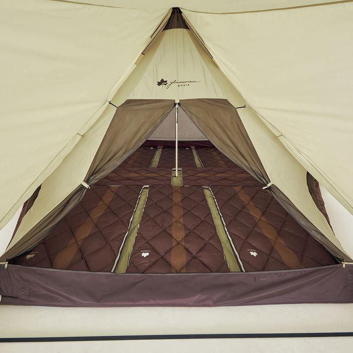 グランベーシック Tepee 520-AH の寝室