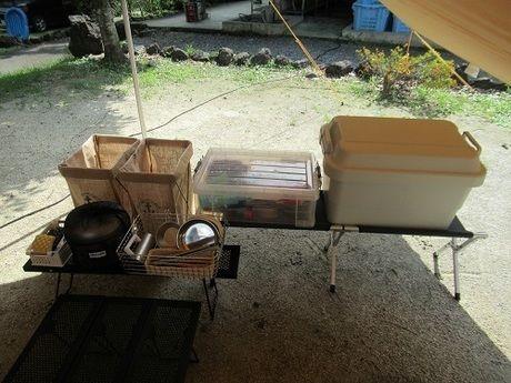 キャンプに必要な持ち物、道具