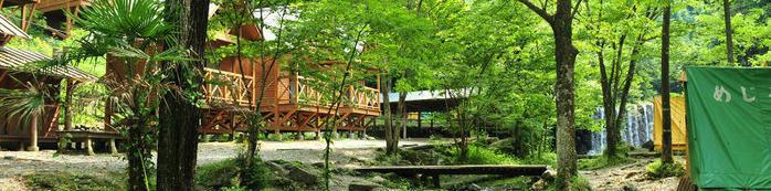 木のむらキャンプ場の施設