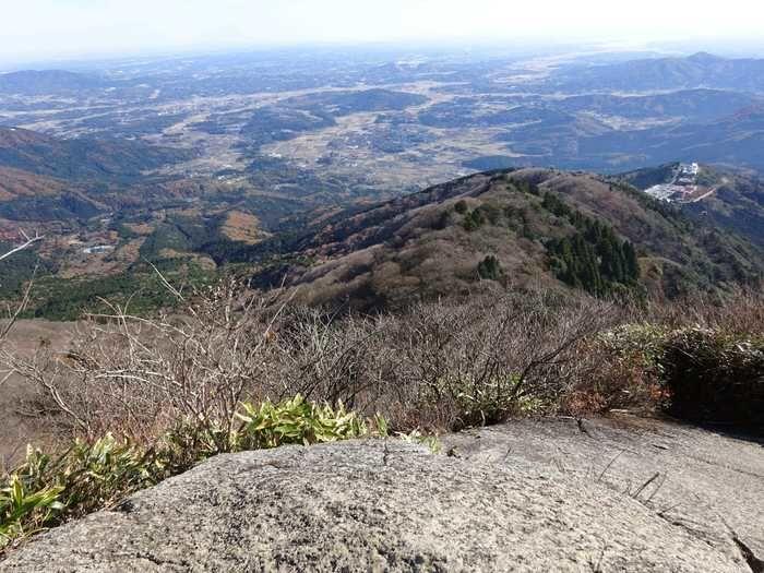 筑波山からの風景