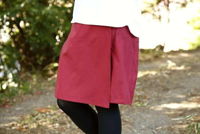 ストレッチ素材のスカート