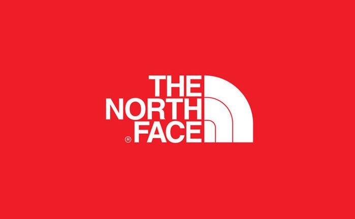 ザ・ノース・フェイスのロゴ