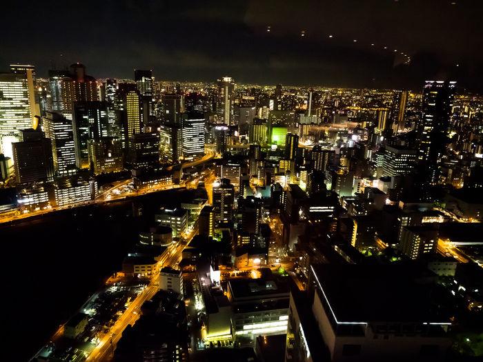 交野山からの夜景