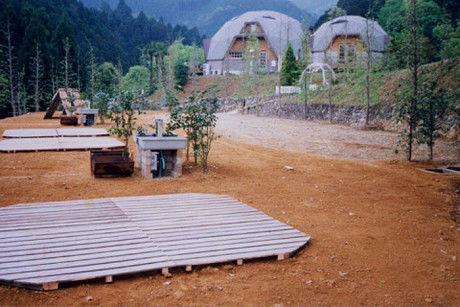 コットンフィールドのキャンプサイト