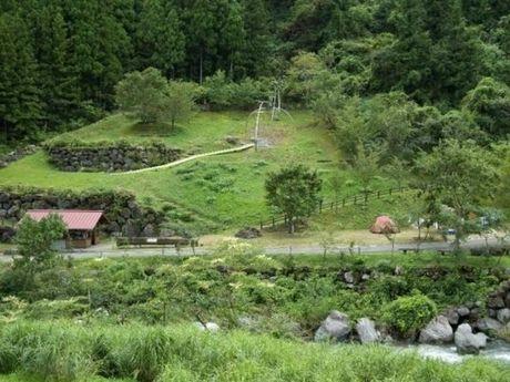 夢の森公園キャンプ場の遠景