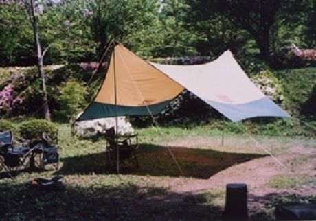 柿山田オートキャンプガーデンのテントサイト