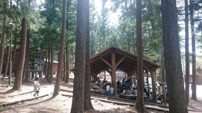 赤城森林公園のバーベキュー場