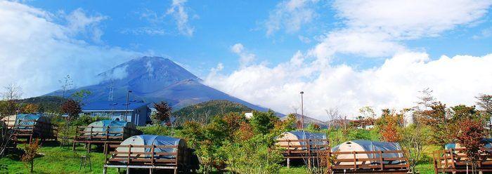 キャンピカ富士ぐりんぱの景観