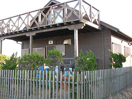 波崎シーサイドキャンプ場の貸別荘
