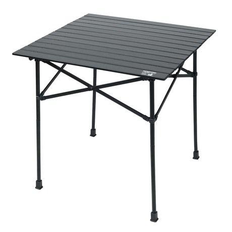 CS ブラックラベルのアルミツーウェイロールテーブル 70