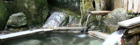 つちうちキャンプ場の露天風呂