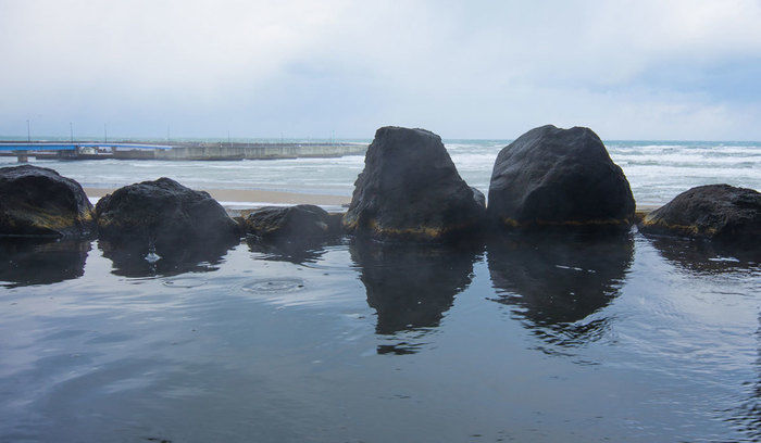 岩城オートキャンプ場の露天風呂