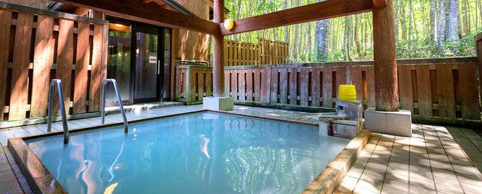 休暇村 乳頭温泉郷 乳頭キャンプ場のお風呂