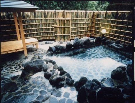 妖精の森キャンプ場の露天風呂