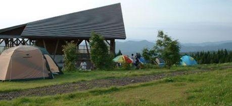 妖精の森キャンプ場のテントサイト