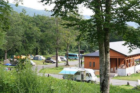 休暇村 乳頭温泉郷 乳頭キャンプ場のオートサイト
