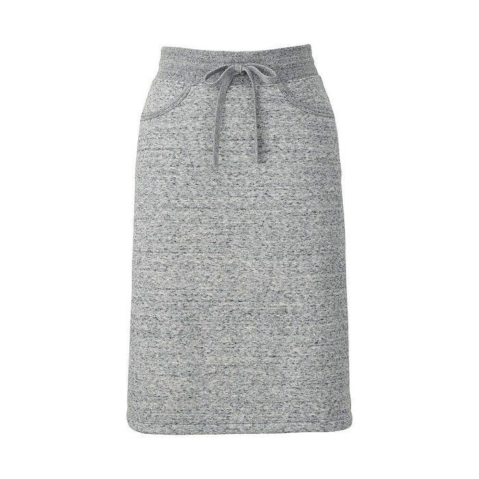 ボアスエットスカートの写真