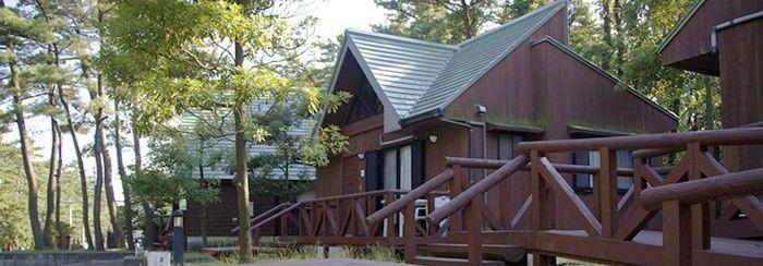 西浜コテージ村・キャンプ場のコテージ
