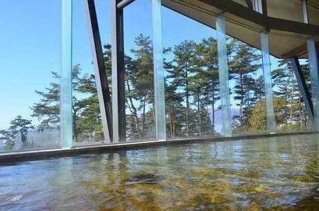 ふるさと森林公園の鷹野湯温泉「パレス松風」