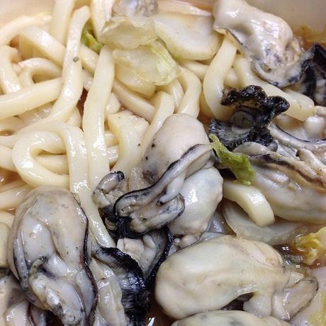 牡蠣とうどん