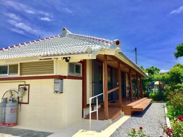 琉球の家 古宇利島KANAUのコテージ